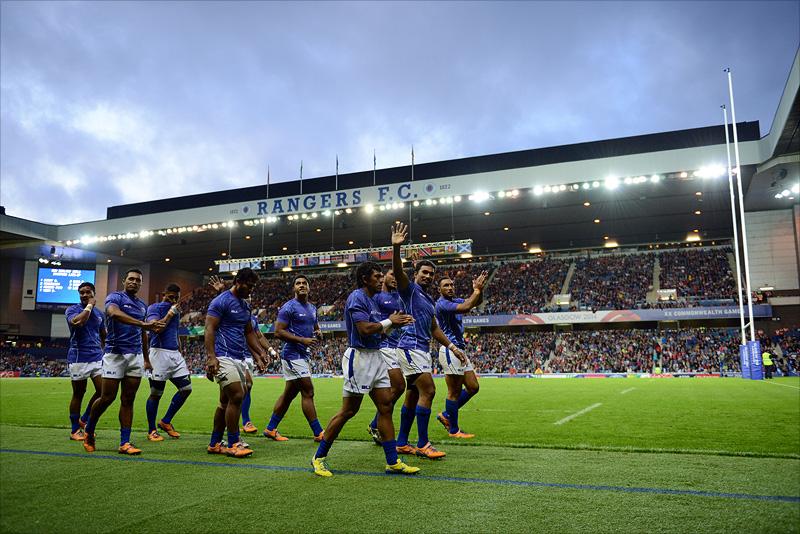 Samoa Sevens team - Glasgow 2014