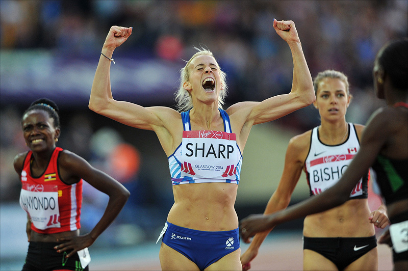 Lynsey Sharp - Glasgow 2014