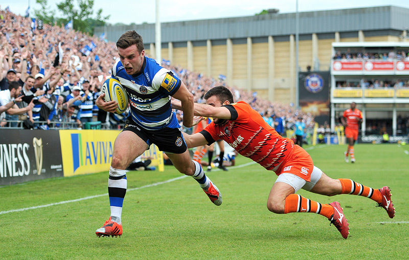 George Ford try