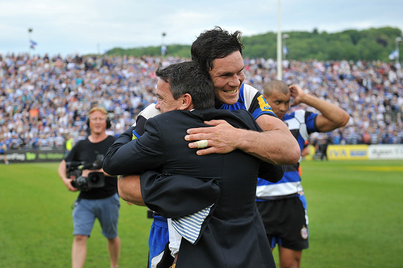 Mike Ford and Francois Louw