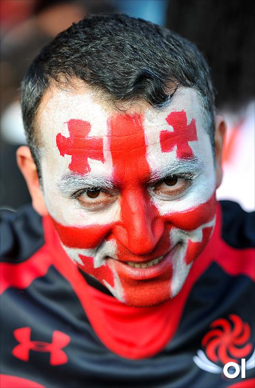 Supporter - Argentina v Georgia