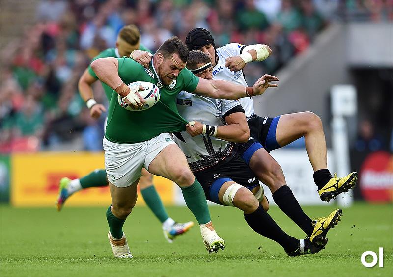 Cian Healy - Ireland v Romania