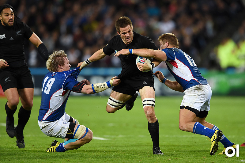 Richie McCaw - New Zealand v Namibia