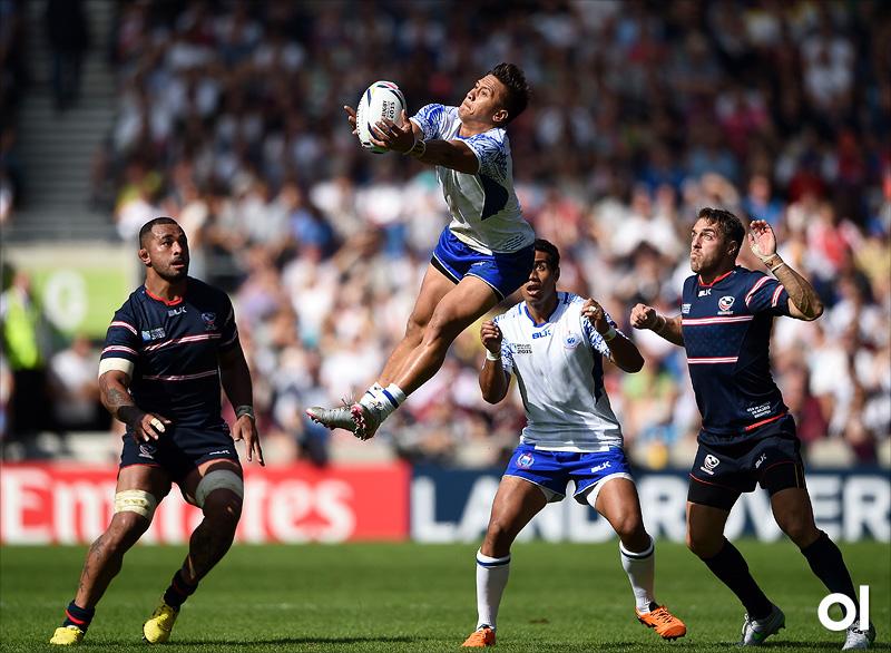 Tim Nanai-Williams - Samoa v USA