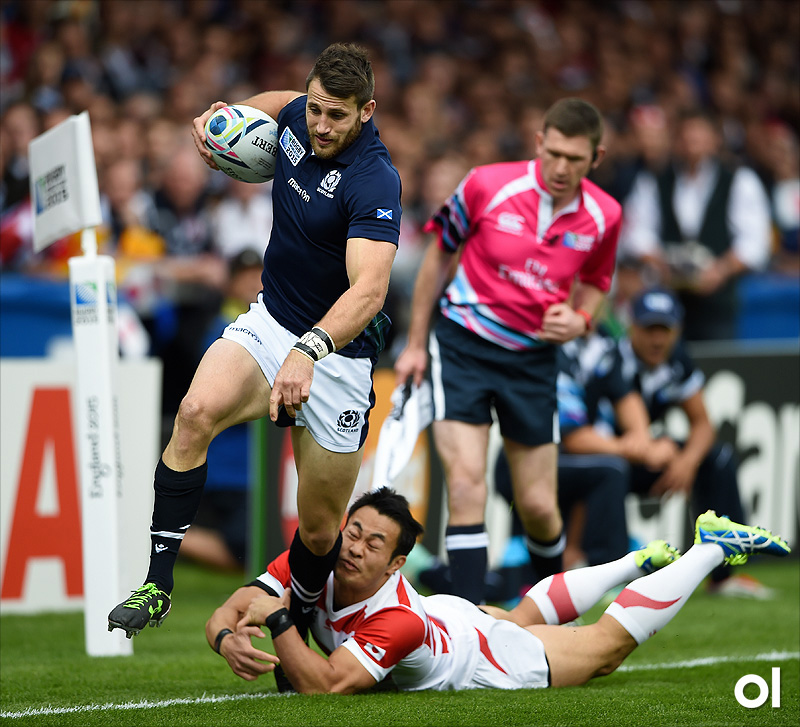 Tommy Seymour - Scotland v Japan