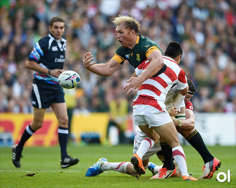 Schalk Burger - South Africa v Japan