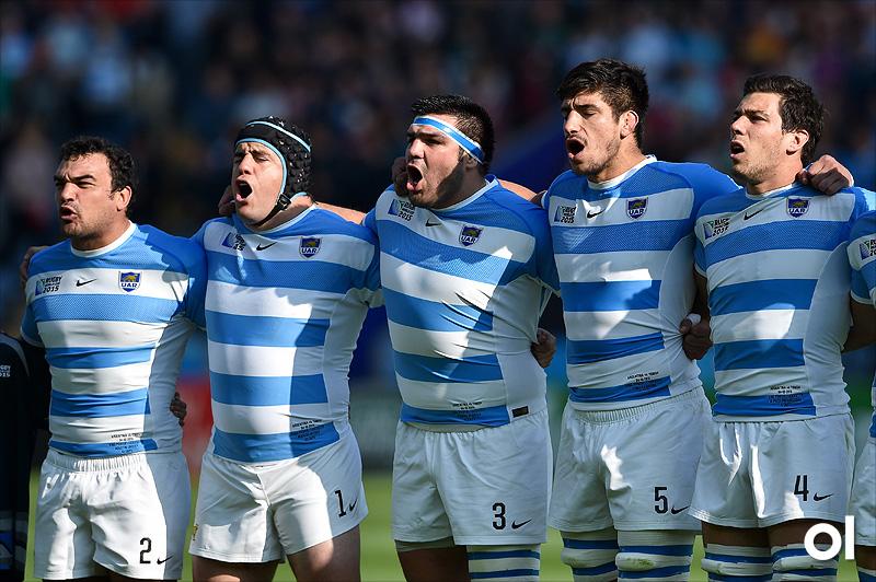 Anthem - Argentina v Tonga