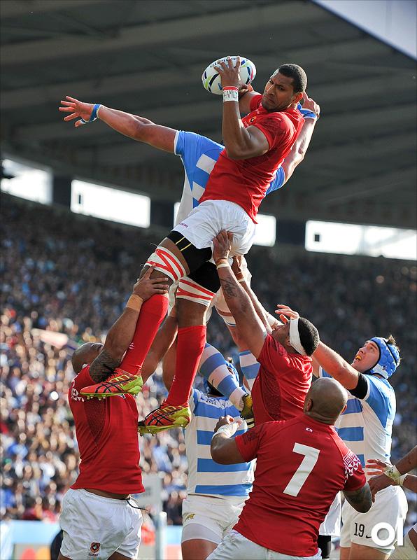 Steve Mafi - Argentina v Tonga