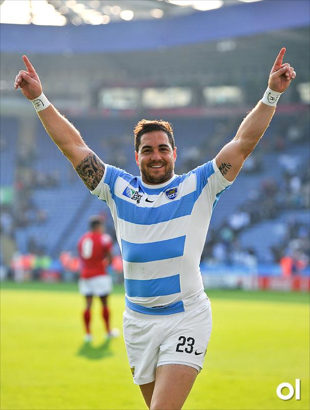 Horacio Agulla - Argentina v Tonga