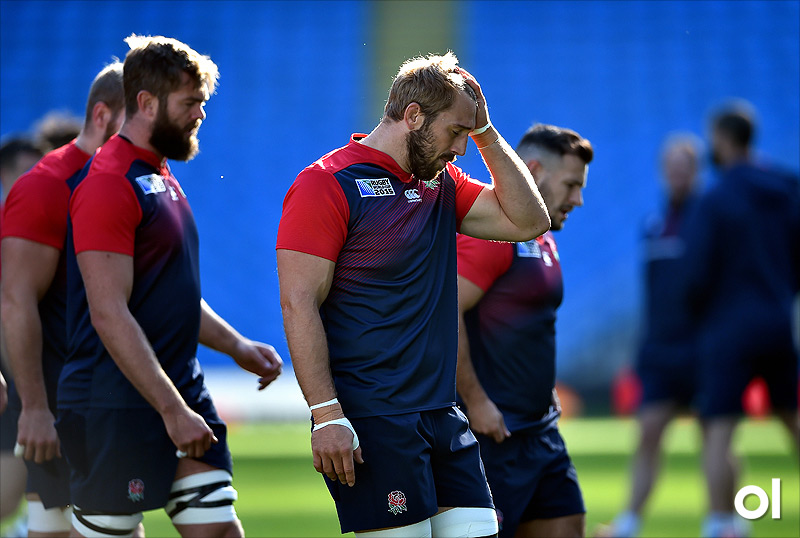 Chris Robshaw - England Captain's Run