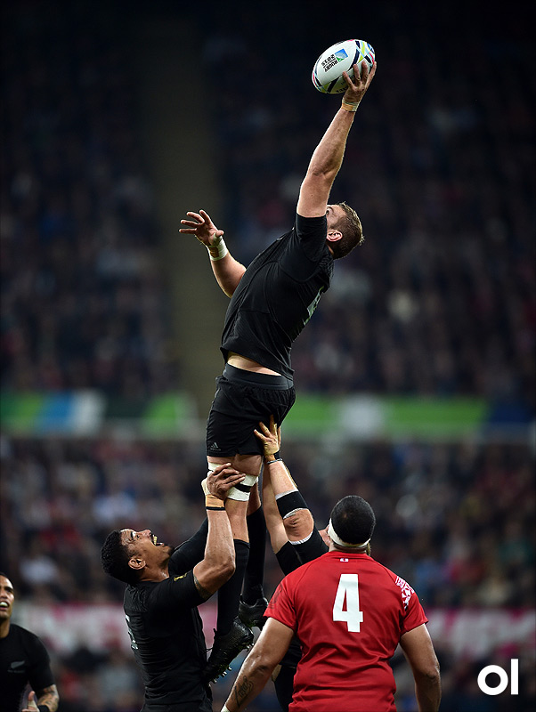 Luke Romano - New Zealand v Tonga