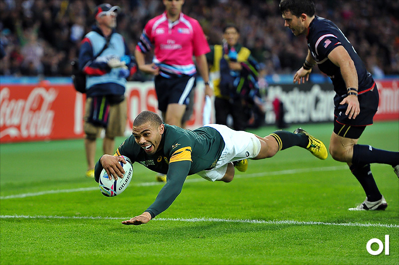 Bryan Habana - South Africa v USA