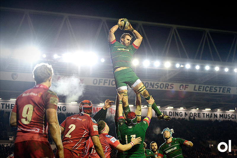 Tom Croft - Leicester Tigers v Scarlets