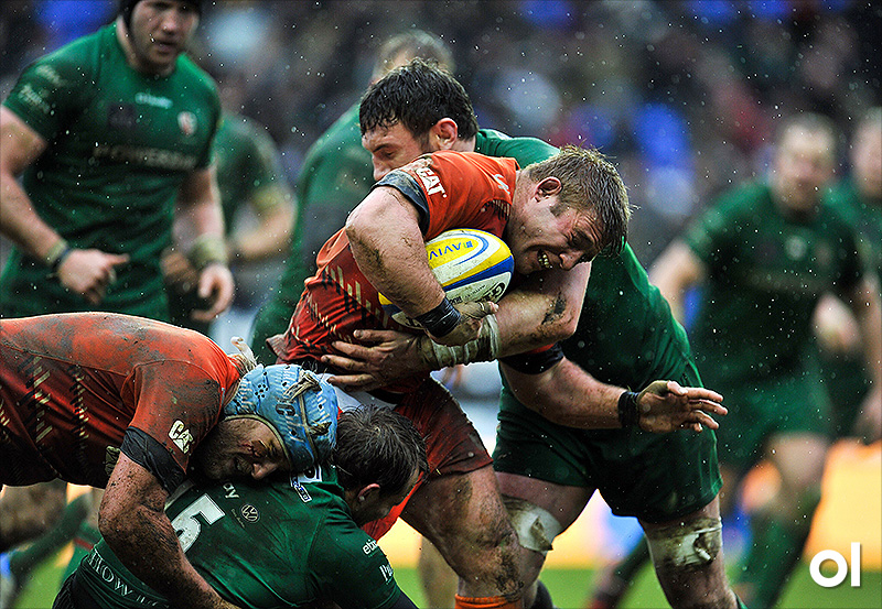 Tom Youngs - Leicester Tigers v London Irish