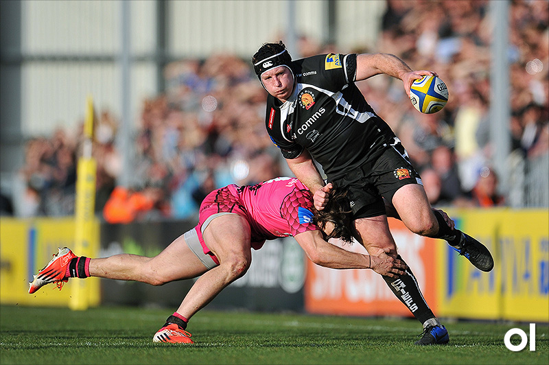 Thomas Waldrom - Exeter Chiefs v London Welsh