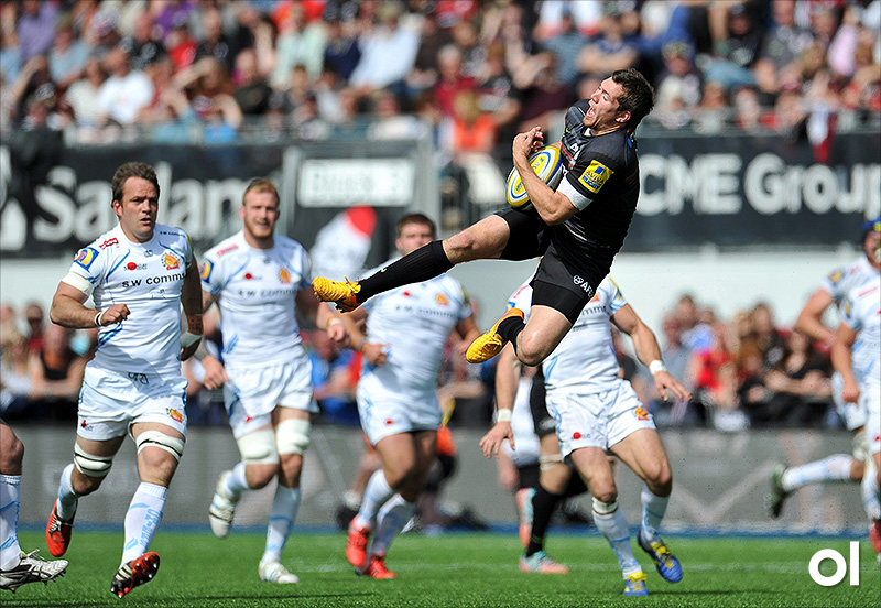 Alex Goode - Saracens v Exeter Chiefs