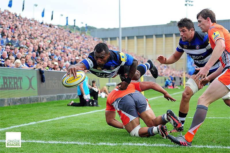 Semesa Rokoduguni - Bath Rugby v Newcastle Falcons