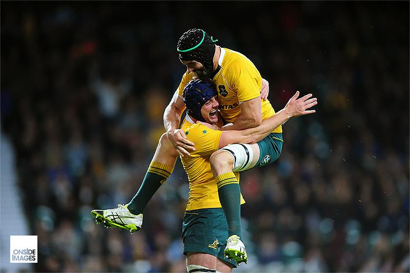Celebration - Argentina v Australia