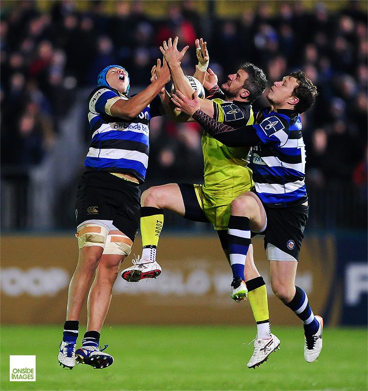 Tom Brady - Bath Rugby v Leicester Tigers