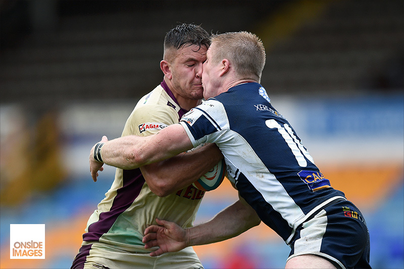 Will Owen of Doncaster Knights gets to know Callum Irvine of Yorkshire Carnegie