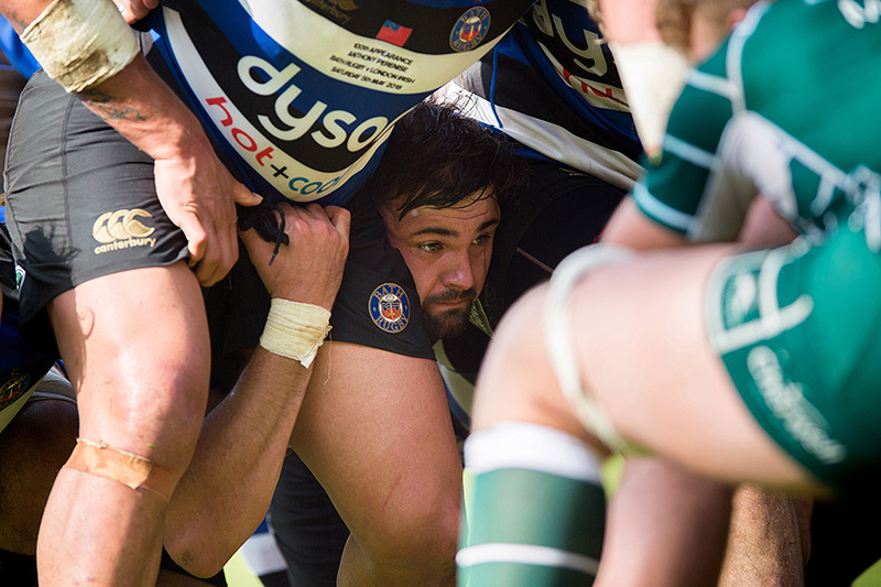 The life of a second row for Elliott Stooke